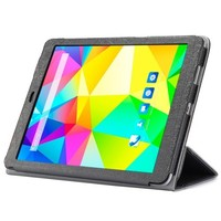 3-folding Pattern Ultrathin Folio Protective Leather Cover Case for CUBE T9 Tablet PC