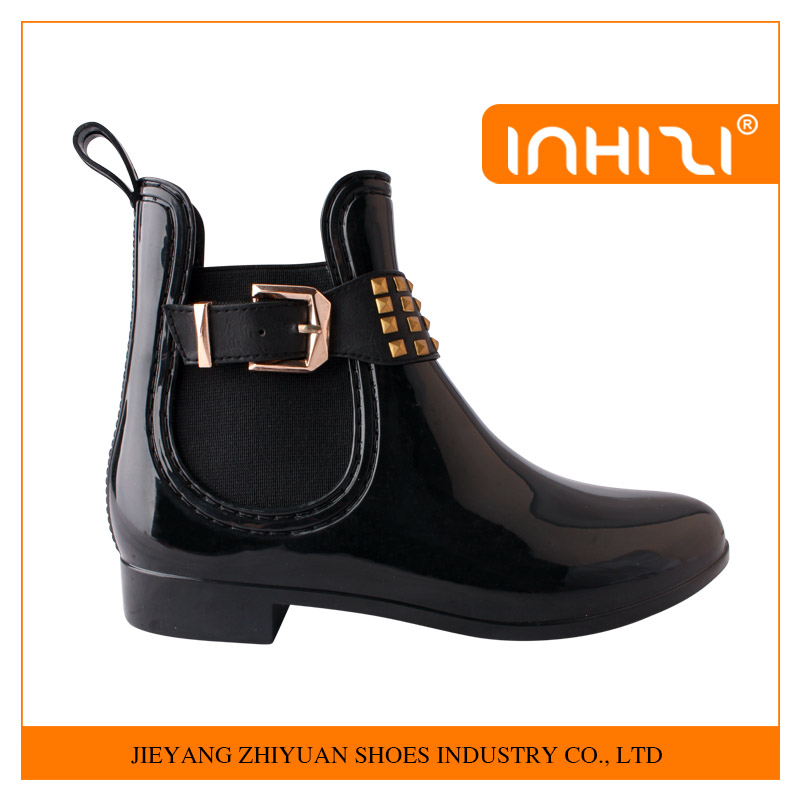 Women's Ankle Rain Boots Fashion Boots European and American Style