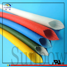 2.5KV silicone fiberglass Plastic wire protective thermal insulation sleeve