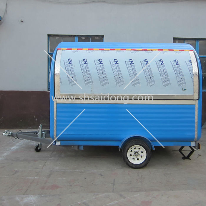 NEWEST!!!snack food van/food caravan/mobile restaurant food van design