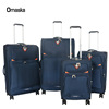 Popular selling 4 pcs 4 wheels big lots sky travel suitcase luggage