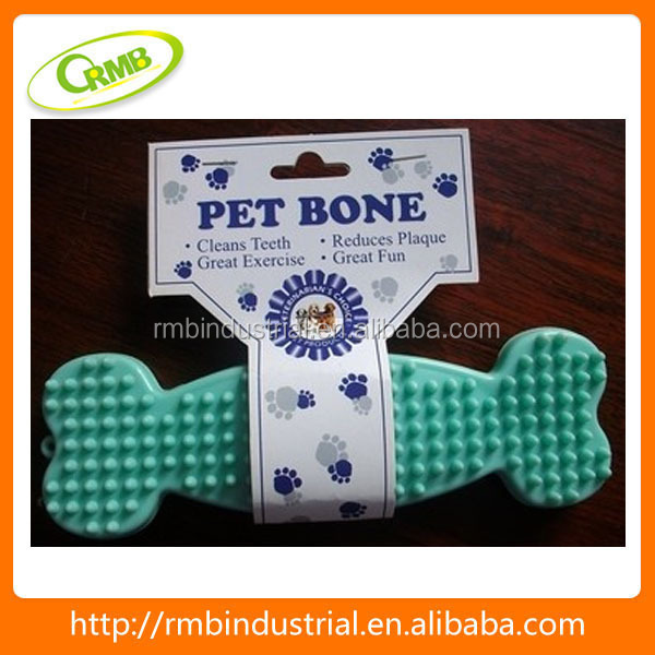 Dental care bone shaped pet chew toy/ Dog bone/ durable dog toy