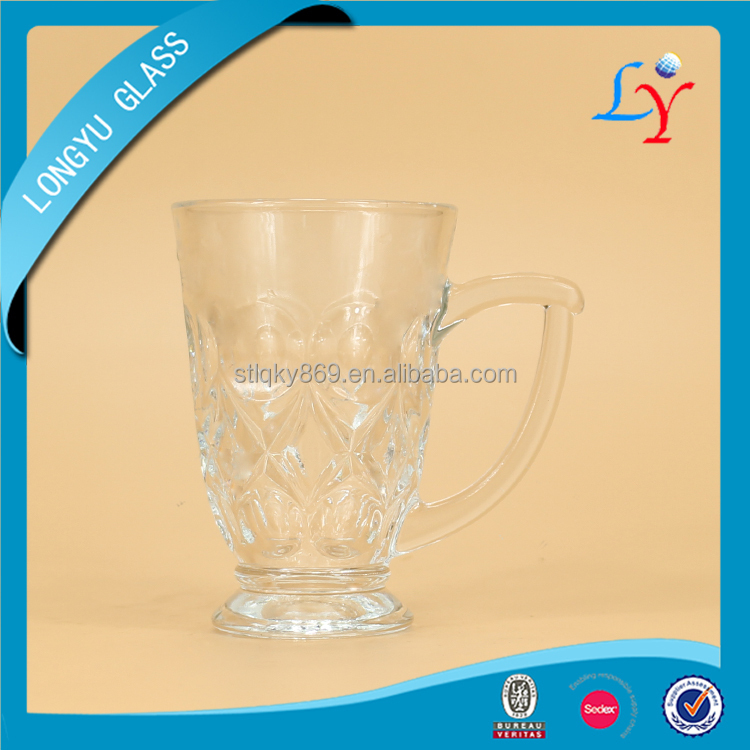 popular clear cups table glassware