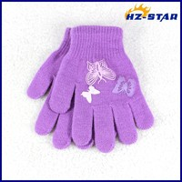 HZS-13236005 Used cotton knitting machine children hand embroidery gloves