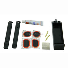 Outdoor portable bicycle tire repair kit