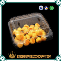 Eco friendly food grade blister container for fruits