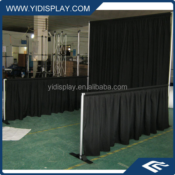 Nine Trust Pipe And Drape Systems For Event Drapery Display Use