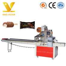 Automatic ice cream pillow bag packing machine horizontal packaging