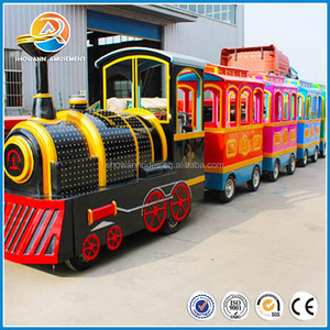 Big shopping center / mall / amusement park electric battery trackless train ride for sale