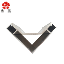 l shaped aluminum extrusion for light box