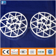 plastic snowflake ring applied for fume scrubbing, acid gas absorption, VOC stripper, and etc