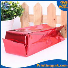 Colorful Aluminum Foil Clear Window Ziplock for NUT Packaging bag