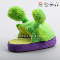 OEM Stuffed animal shape shoes for girls