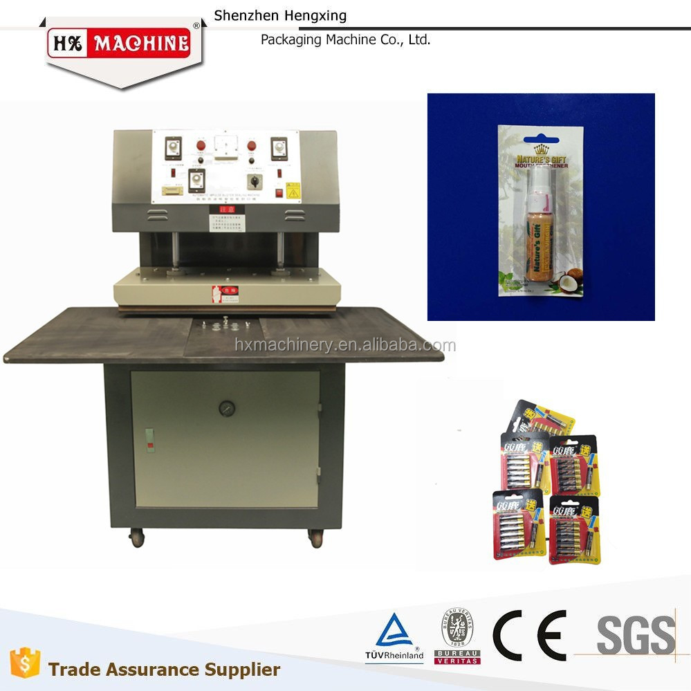 manual blister packaging pills machine
