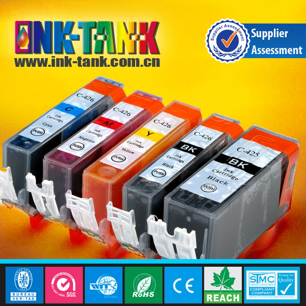 pgi-425 cli-426 ink cartridge,compatible canon pgi-425 cli-426 cartridge for canon pixma printer