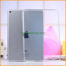 Wholesale Transparent TPU Gel cover Case for ipad air 2