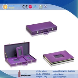 PU Cover Material and Case Binding Binding Photo Album