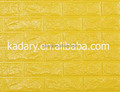 Yellow 3D Foam Wallpaper