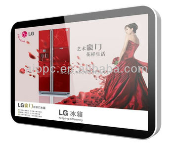 42 inch wall mounted lcd Full HD advertising player