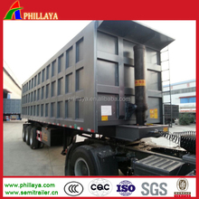 New Condition Hydraulic Cylinder Dump Truck Trailer Rear&Side Dump Semi trailer For coal transport