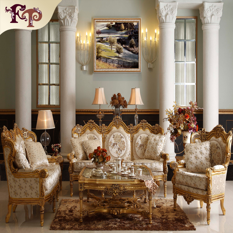 leather expensive europe design europe royal style classic leather sofa set