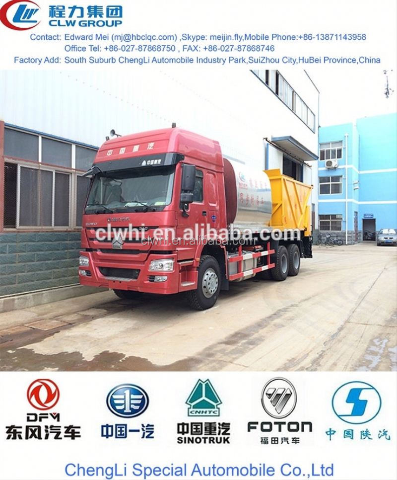 high quality bitumen emulsion spraying truck
