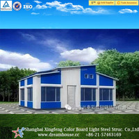 China cheap prefab portable house/ light steel prefab house/ prefabricated houses for sale