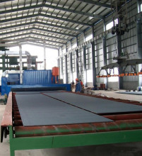 Roller Bed Conveyor Type Shot Blasting Machine