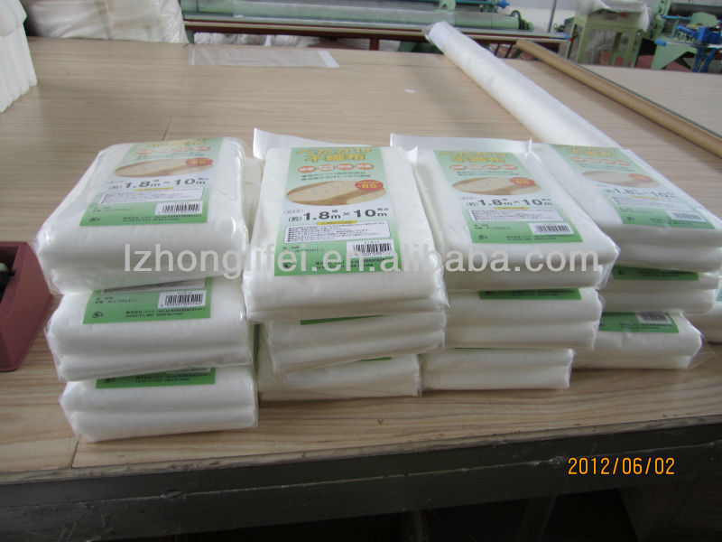Biodegradable PP nonwoven fabric hydrophilic black weed barrier mats