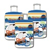 Spandex Lycra Cartoon Suitcase Cover For