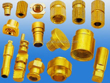 forged brass pipe fitting C36000 polished brass part