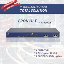 1U 19 inch 2 PON Ports EPON OLT with Automatic Configuration And Management