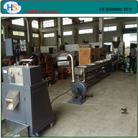 Recycing PP/PE/PC/PET flakes plastic granulating production line