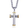 Fashion Stainless Steel Ball Chain Corss Necklace Sports Baseball Necklace For Men Woman