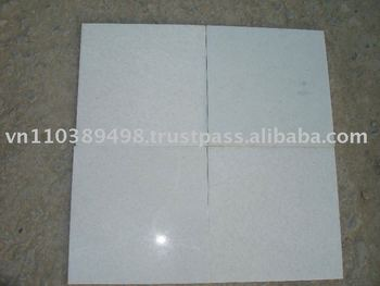 30.5x30.5x1cm Polished Pure White Marble
