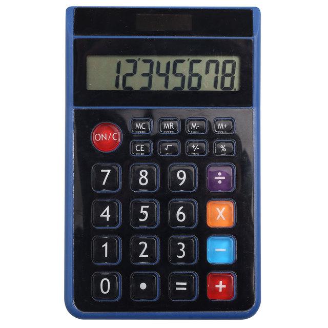 Office Desktop Solar Power Customized 8 Digit Calculator