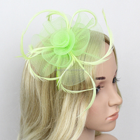 Hot Sale Wedding Party Hair Accessories Fabric Flower Headband/Hairband For Girs