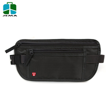 Portable Rfid Travel Blocking Money Belt Waterproof