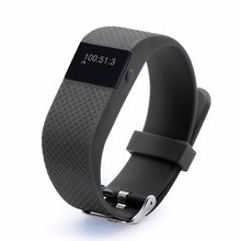 Fashionable Calorie Counter Smart Watch Bracelet ID100 with Pedometer Call and SMS Alarm Multi Function Wristband