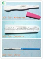 One step test strip hcg