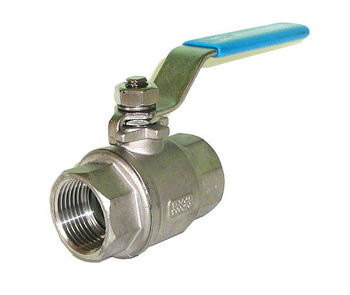 Stainless Steel 2PC Ball Valve