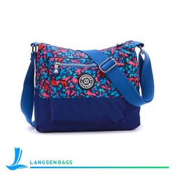 2015 stylish printed floral canvas tote bag