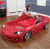 LED Acing Car Bed Car Toddler