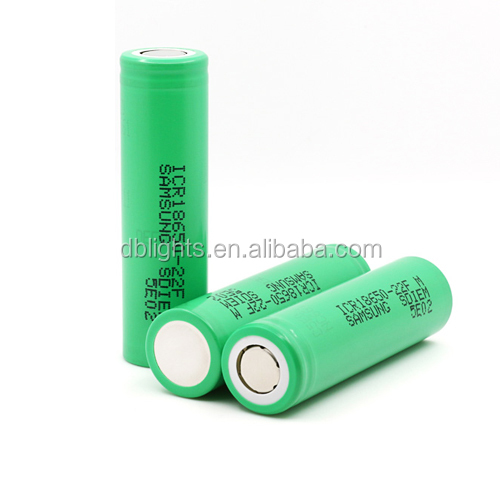 3.6V 2200mAh ICR18650-22FM Lithium-ion Rechargeable battery /battery pack