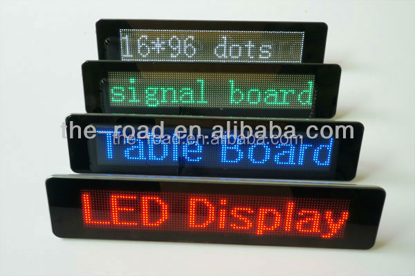 Electrical Item List Small Advertising Led Screen Led Running Message Display