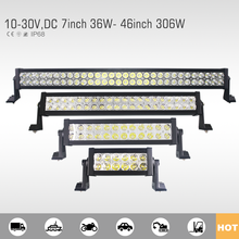 High quality led light bar for suv/truck/utv/atv/4wd