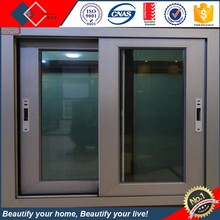 Powder coating Energy Saving Unbreakable Glass Windows Kenya Aluminum Sliding Window