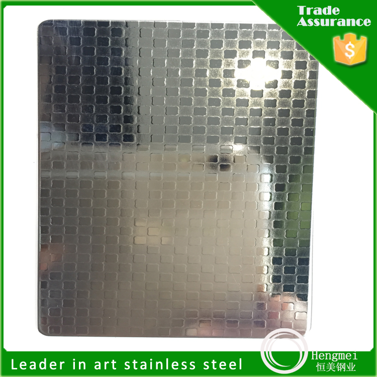 304 6wl embossing decorative stainless steel sheet dimpled stainless steel sheet