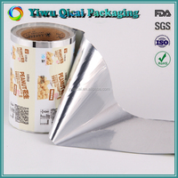 Wholesale Custome Design Laminated Self Adhesive Food Packaging Plastic Roll Film