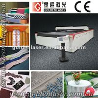 CNC CO2 Laser Cutting Machinery Cloth,Fabric,Home Textile,Leather